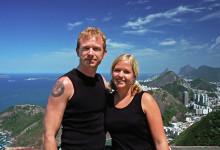 Lars Anki och Rio de Janeiro, Brasilien