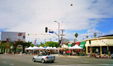 Melrose Place Farmer's Market, West Hollywood Los Angeles
