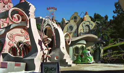 Grinchen kulisser, Universal Studios Hollywood