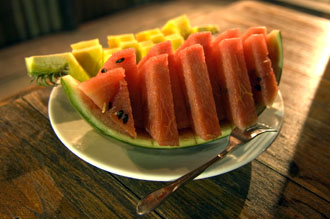 Frukt, The Beach Natural Resort