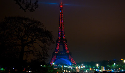 Nyårsnatten, La Tour Eiffel