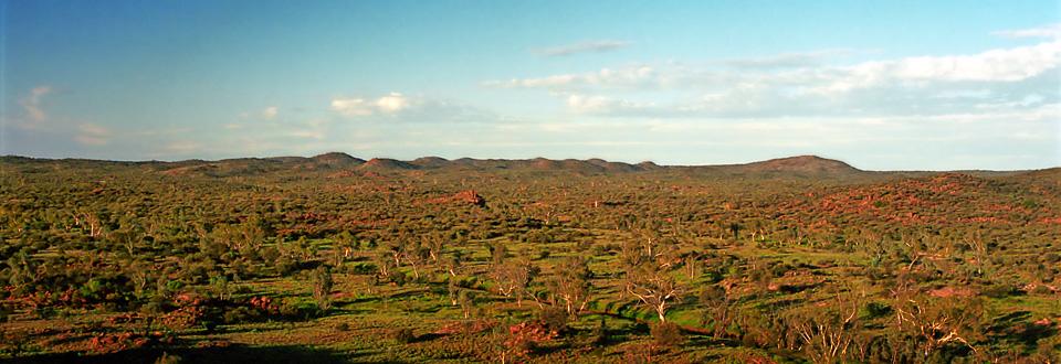 Alice Springs landscape, Australien