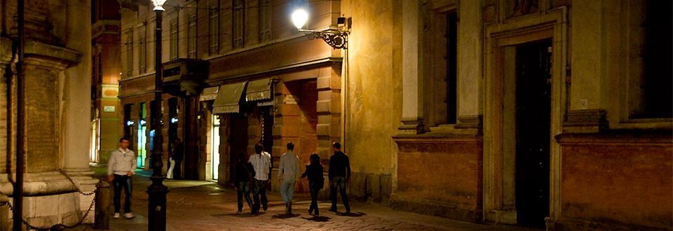 Parma kväll, Italien