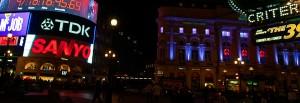 London kväll, England