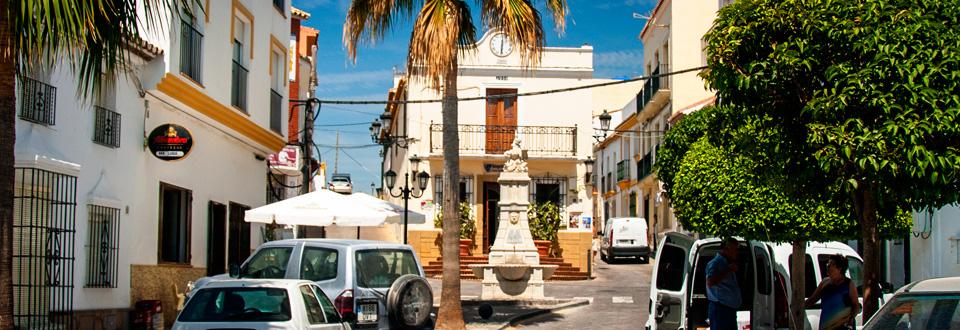 Manilva Centrum, Spanien