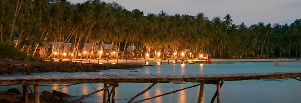 Koh Kood by night, Thailand