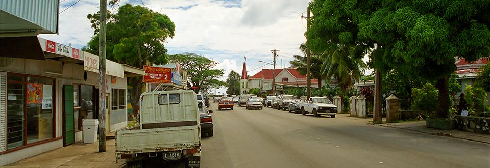 Nukuʻalofa, huvudstad i Tonga