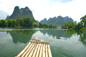 Bambuflotte, Yangshuo
