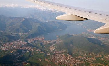 Flygresa till Bergamo