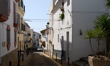 Manilva by i södra Spanien