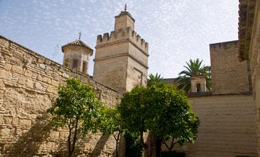 Alcazar, Jerez de la Frontera, Spanien
