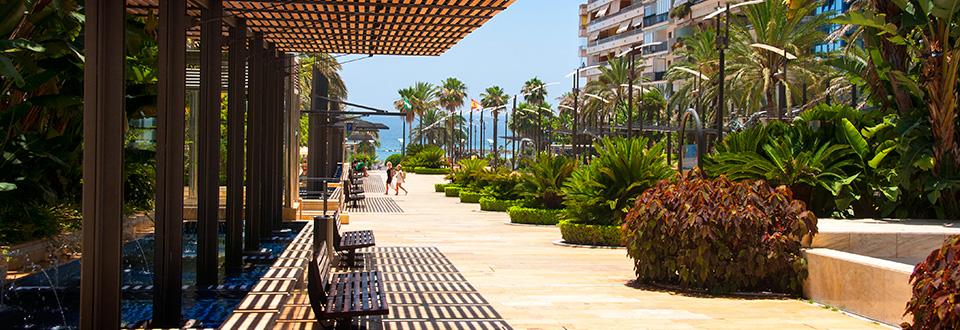Marbella - en trevlig stad vid Costa Del sol