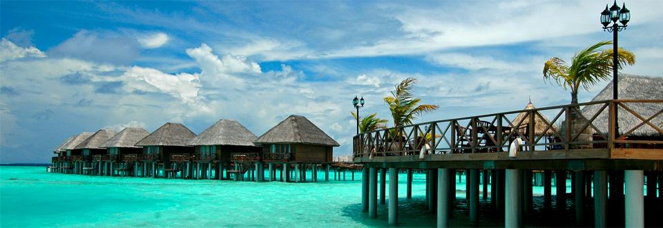 Paradiset på Meedhuffushi Island, Nilandhe atoll Maldiverna