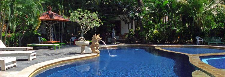 Pool, Puri Bali Bungalow hotell, Lovina Bali