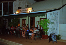 Blooms restaurant, Broome