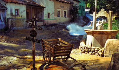 Mexican Flooding, Universal Studios, Los Angeles
