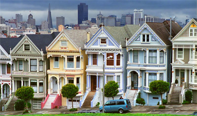 Painted Ladies, Alamo Square, San Francisco