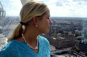 Uppe i London Eye