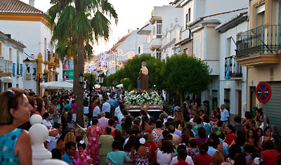 Fiesta de Santa Ana, Manilva 2011