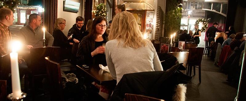 Interiör Kaffi Sólon, Café Solon Reykjavik