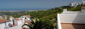 Manilva utsikt, Spanien