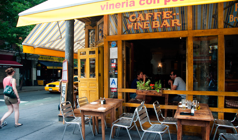 Ciao Restaurang och vinbar i Greenwich Village New York