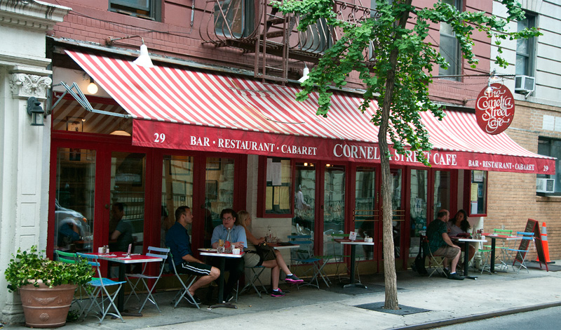 Cornelia Street Café, West Village, New York