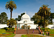 Conservatory of Flowers, Golden Gate Park San Francisco