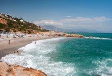 Punta Chullera strand, Manilva