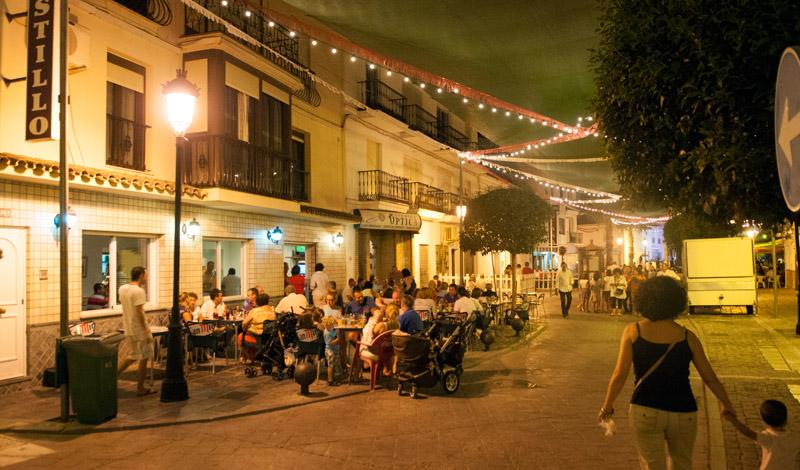 fest spansk liten