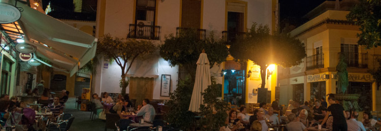 Plaza Doctor Mena Arce i Estepona