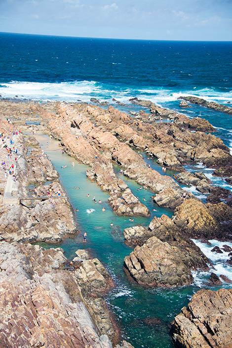 Cape St Blaize i Mossel Bay, Sydafrika