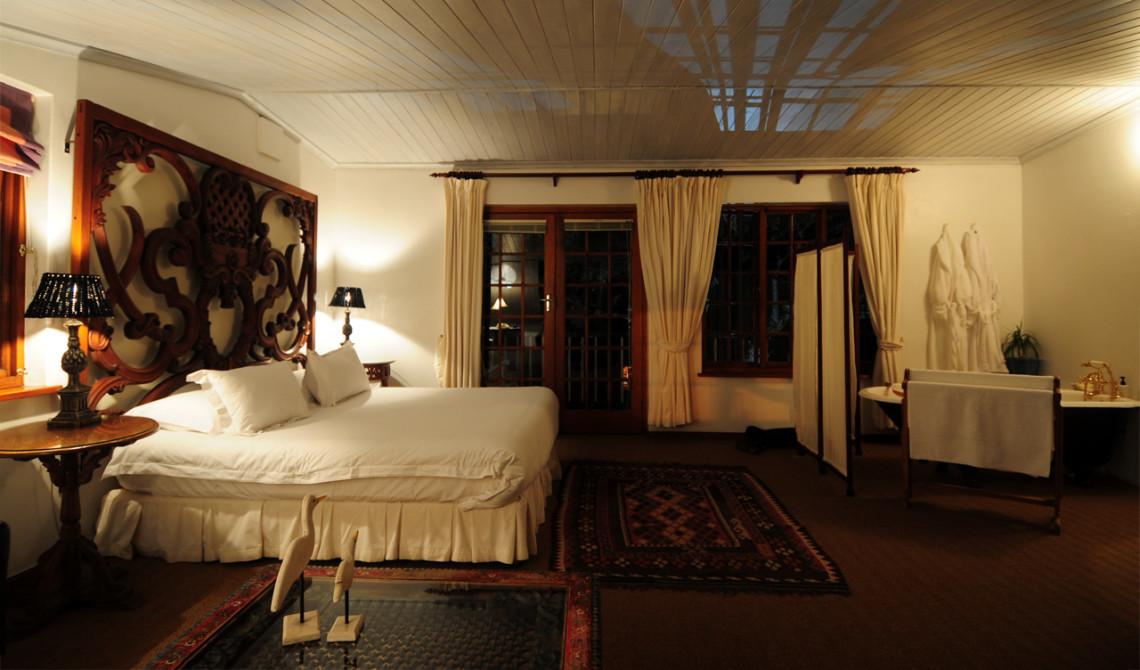 Rum 7 på De Alchemist i Franschhoek