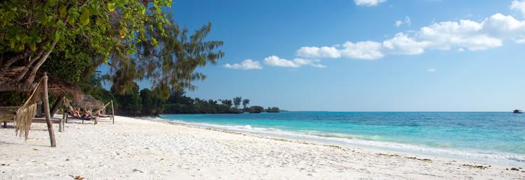 Underbar strand vid Manta Resort - Pemba, Tanzania