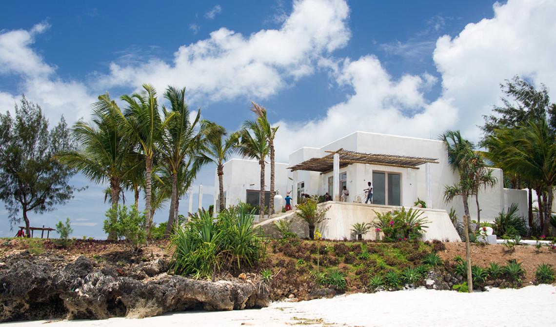 Ny resort håller på att byggas på Pemba