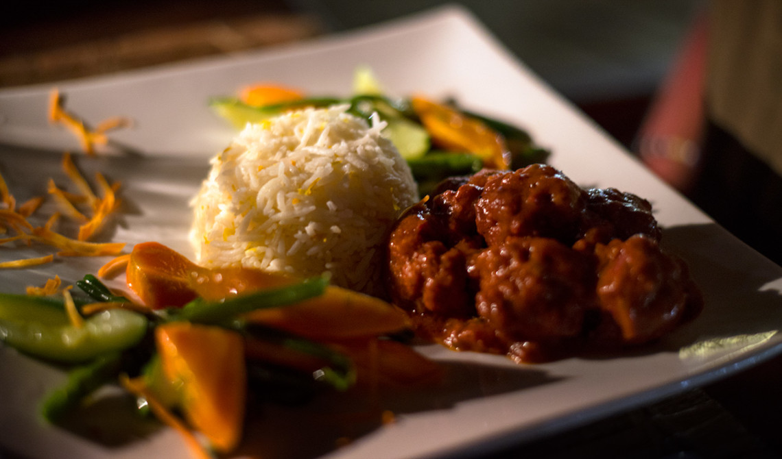 Middag på Manta Resort