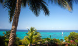 Underbar utsikt från Manta Resort
