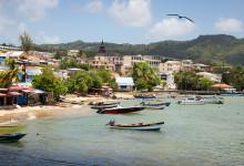 Bra utsiktsplats i Saint-Luce, Martinique