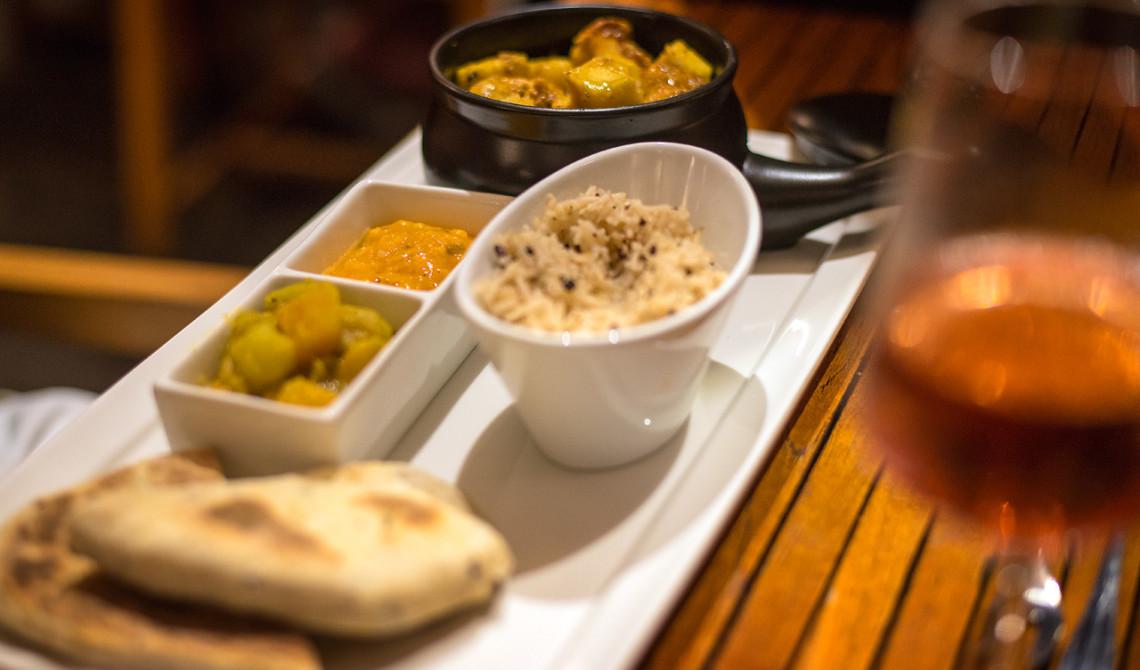 Middag på Boucan Restaurant by Hotel Chocolat, Saint Lucia