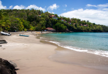 Stranden vid Ti Kaye Resort & Spa, Saint Lucia