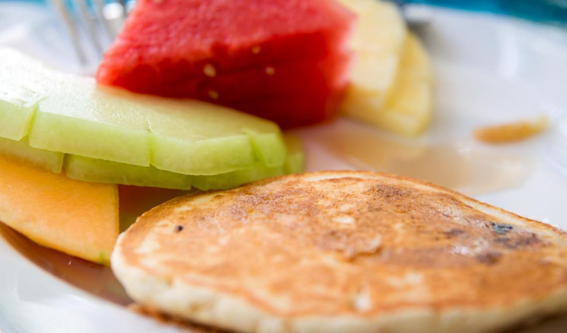 Frukost på West Bay Club Resort, Turks & Caicos