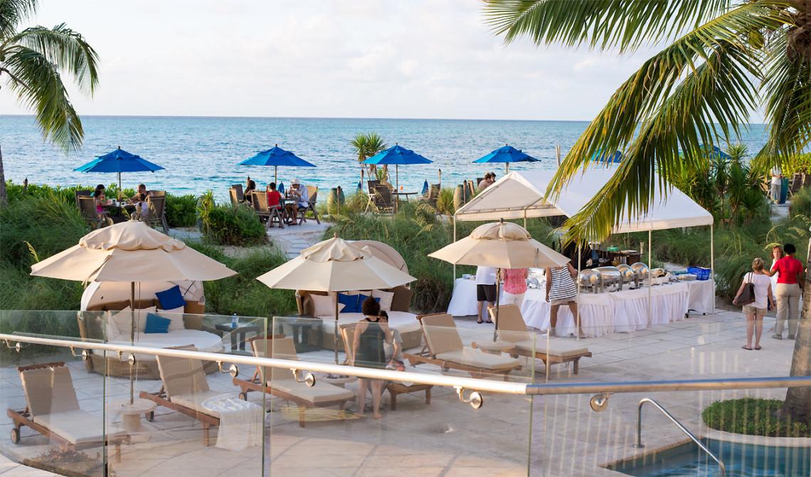 Regnig eftermiddag på Windsong Resort, Turks & Caicos