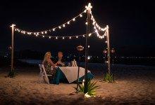 Privat fördelsedagsmiddag på stranden, West Bay Club Resort, Turks & Caicos