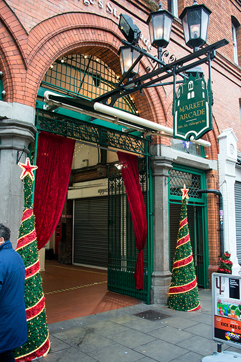 Market Arcade, inomhus marknad i Dublin