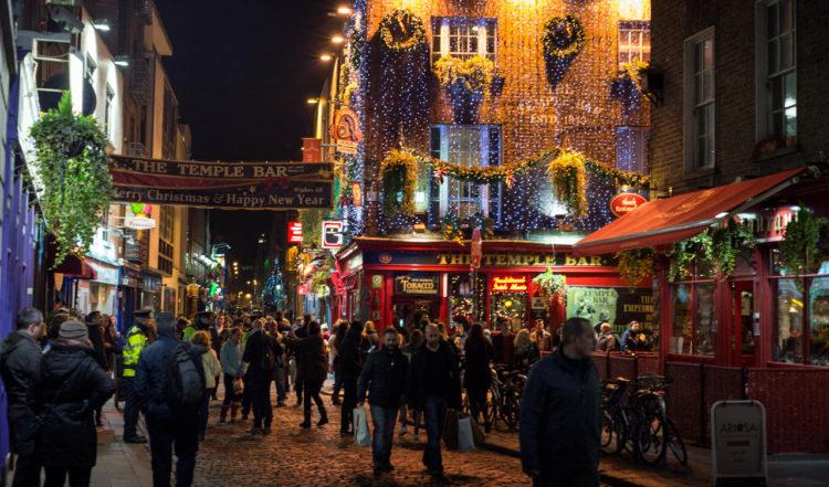 I nyårsnatten i Dublin
