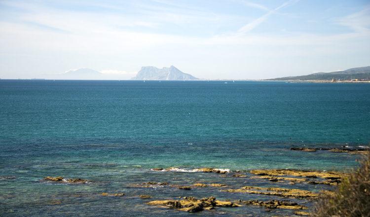 Gibraltarklippan sett från Manilva