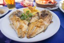 Fisk till lunch på Chiringuito Almijara