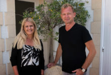 Anki & Lars på J. Lassalle i Chigny-les-Roses i Frankrike