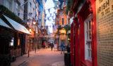 Vacker decemberdag i Dublin