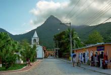 Vila do Abraão, Ilha Grande Brasilien